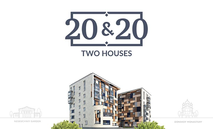 Two Houses 20 & 20 website
