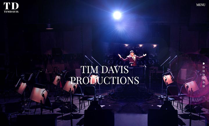 Tim Davis Productions website
