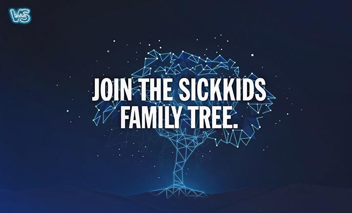 SickKids Family Tree website