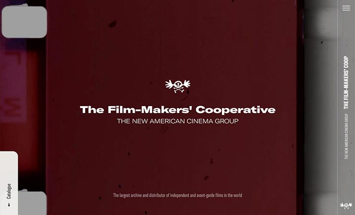 The Film-Makers' Coop website
