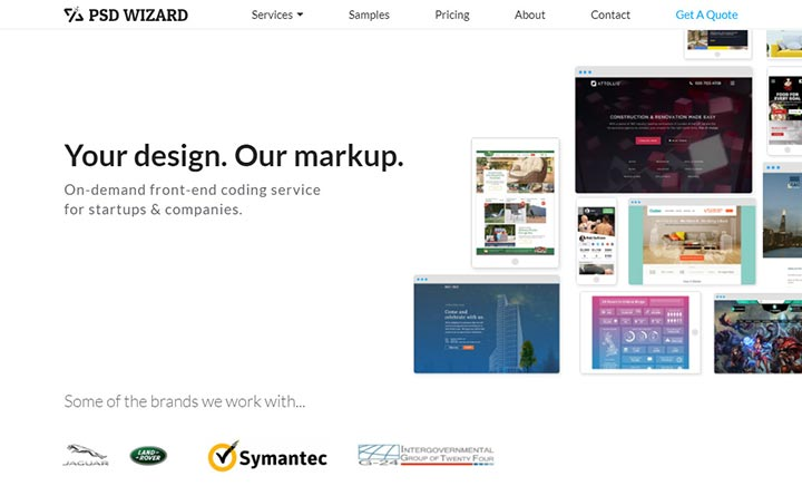 PSD Wizard website