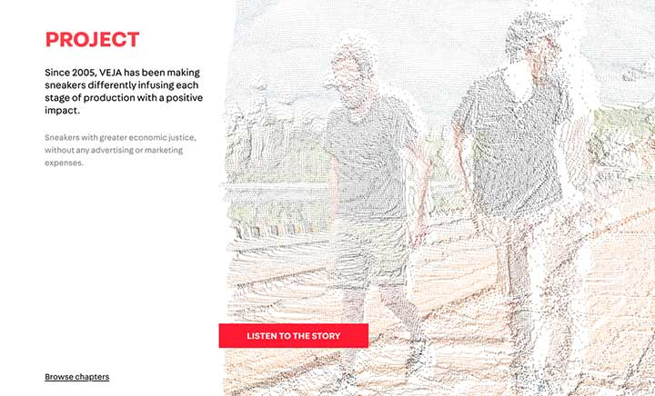 VEJA Project website