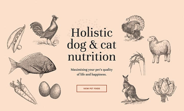 LifeWise Pet Food website