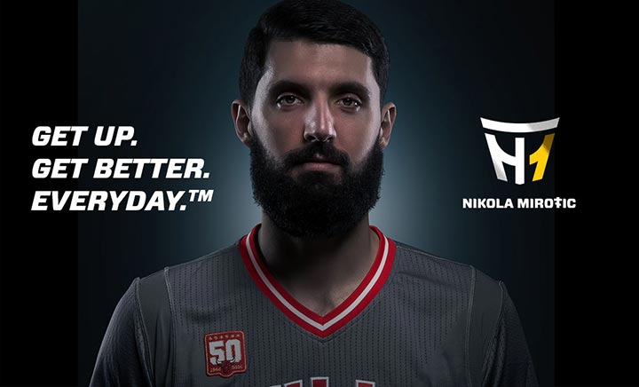 Nikola Mirotic website
