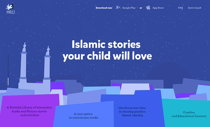 Miraj Stories website