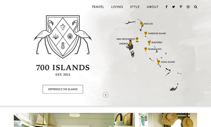 700 Islands website