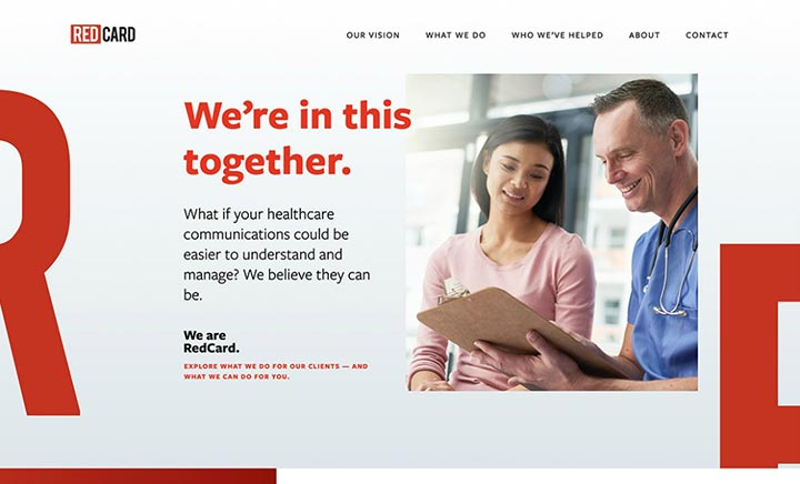RedCard website