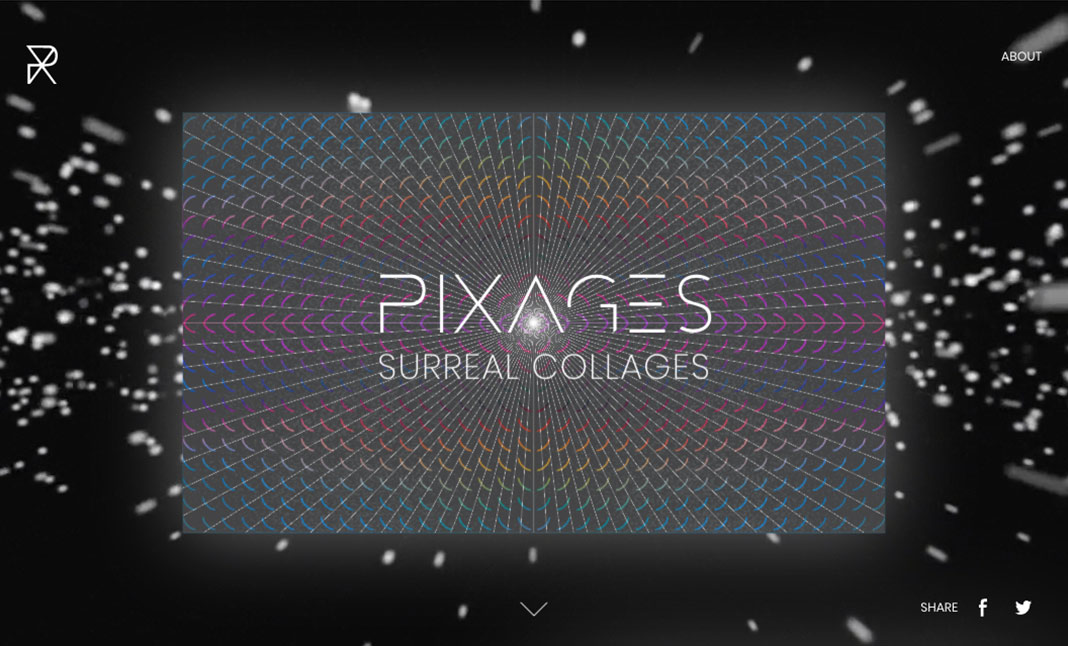 Pixages website