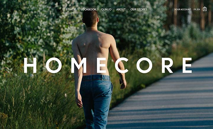 Homecore website