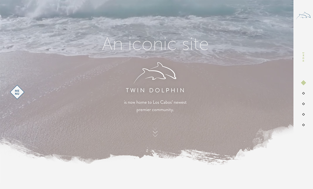 Twin Dolphin Los Cabos website