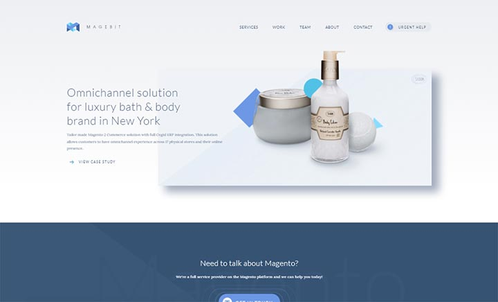 Magebit - Magento Agency website