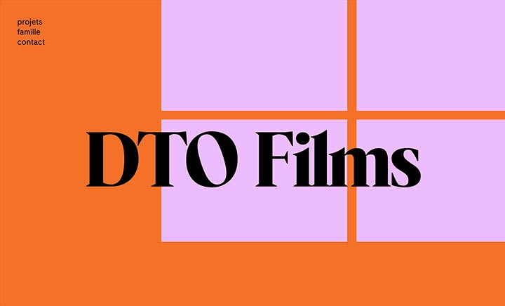 DTO Films website