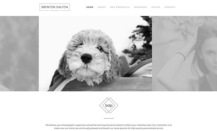 Brenton Dalton Photography website