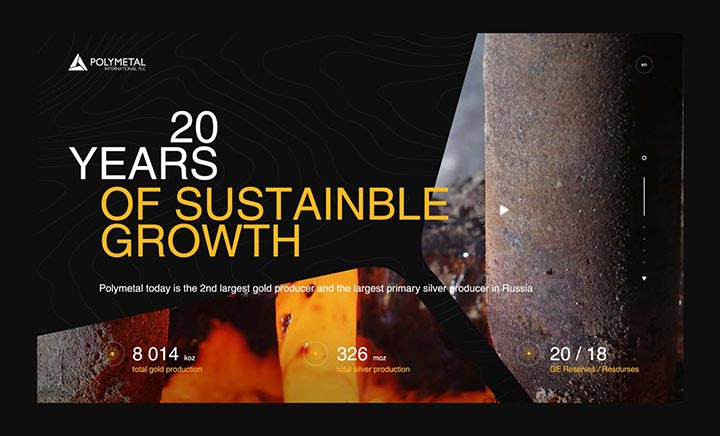 20 Years of Polymetal International website