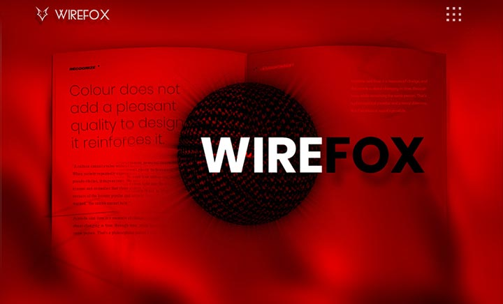 Wirefox Web Design Agency UK website