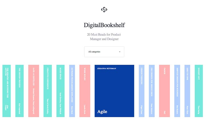 Digital Bookshelf