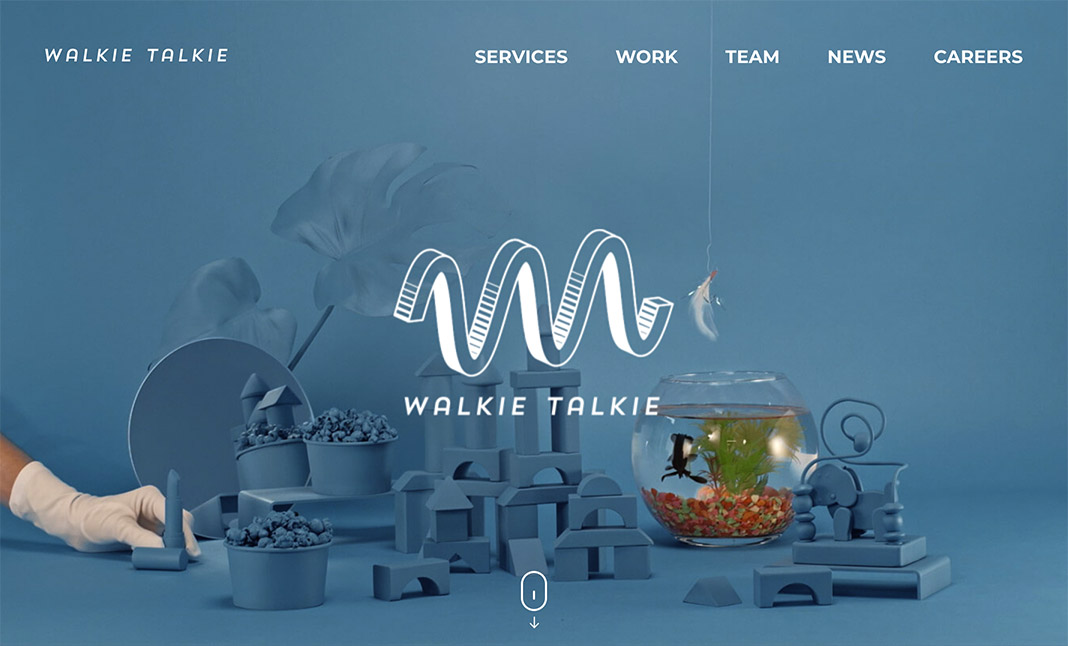Walkie Talkie website