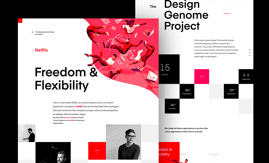 The Design Genome Project website