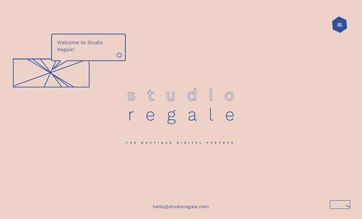 Studio Regale website