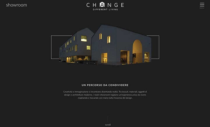 Change - Different Living website