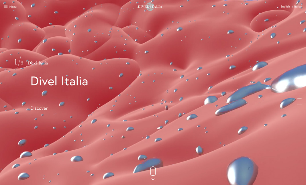 Divel Italia website