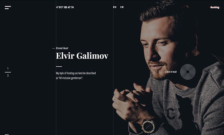 Elvir Galimov website