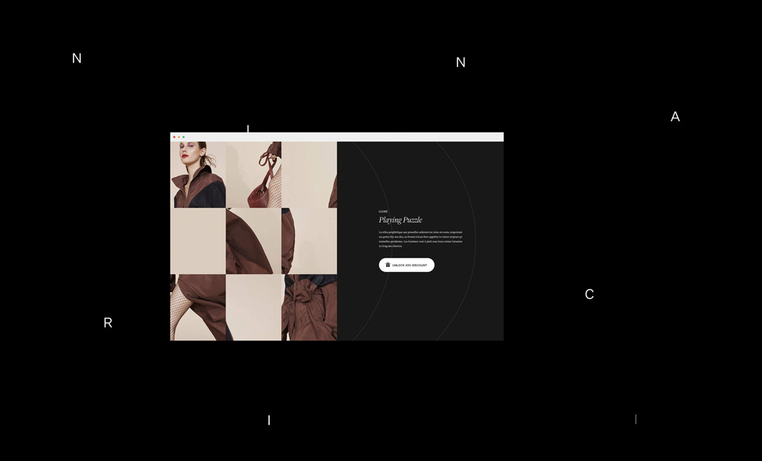 Vincent Tavano - Portfolio screenshot 2