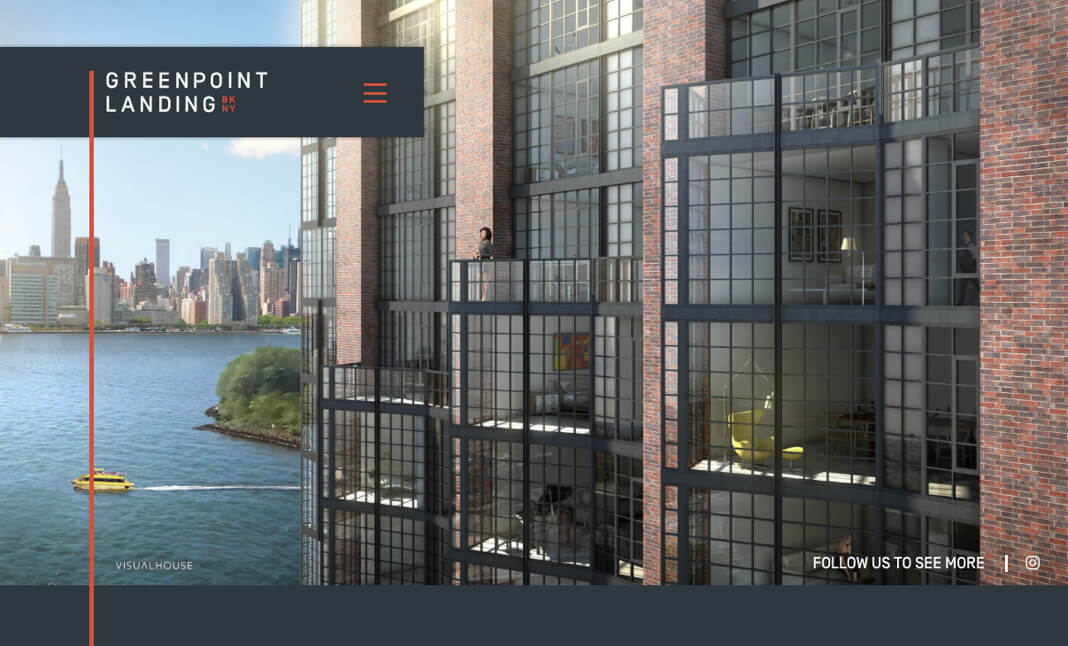 Greenpoint Landing website