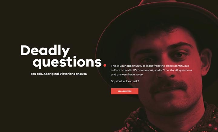 Deadly Questions website