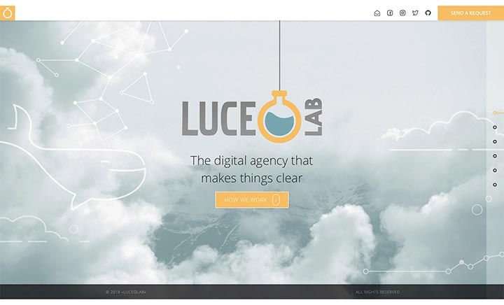 LuceoLab website