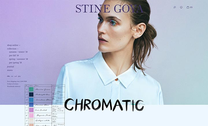 Stine Goya website