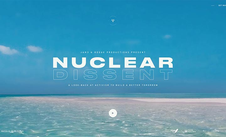 Nuclear Dissent  website