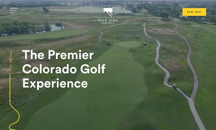 Mile High Golf Trail website