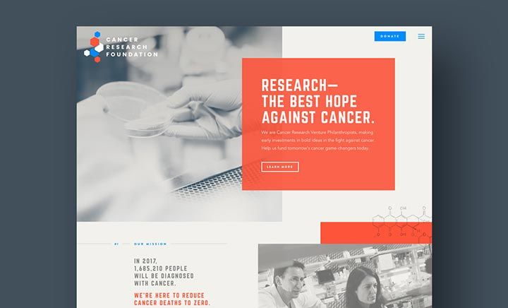 Cancer Research Foundation website