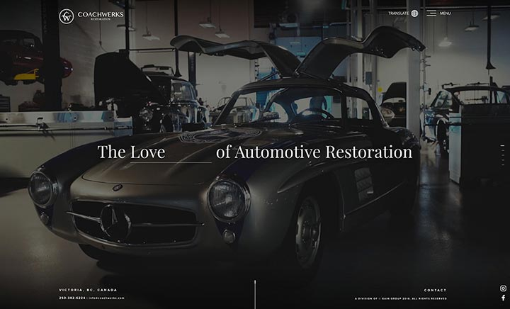 COACHWERKS website
