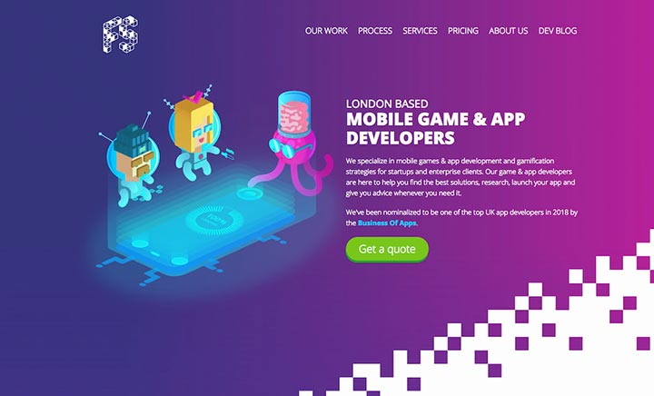 Fan Studio Mobile App Developer  website