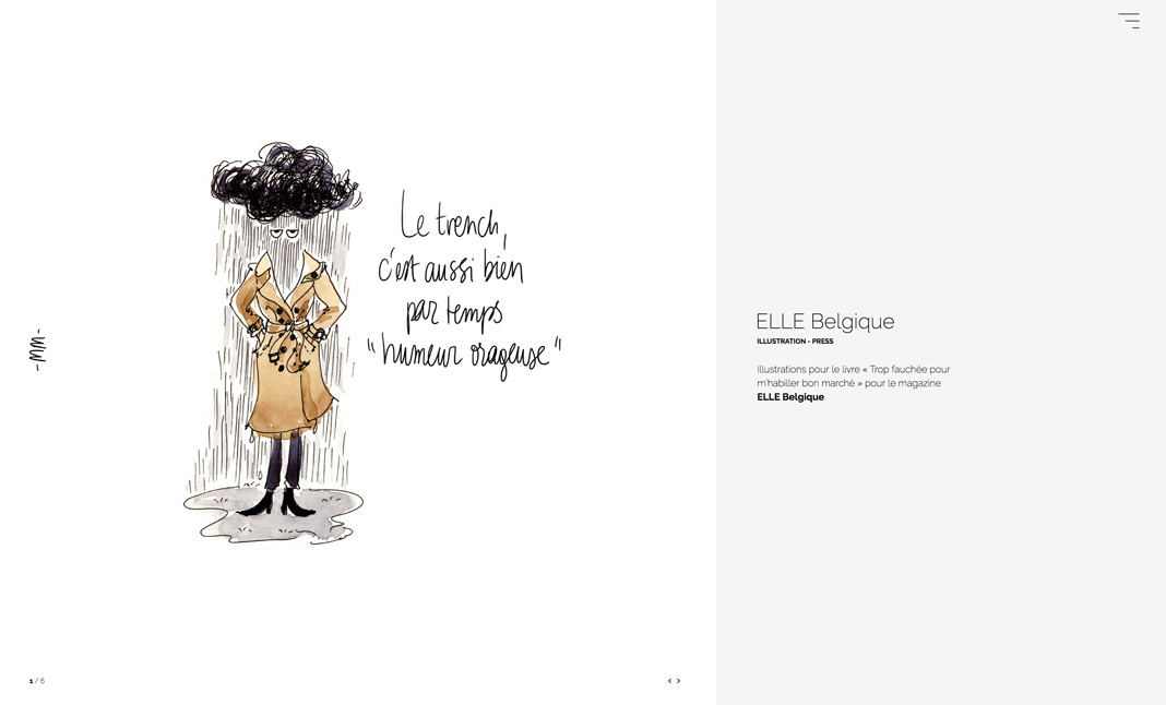 Marie Morelle - Illustrator screenshot 2