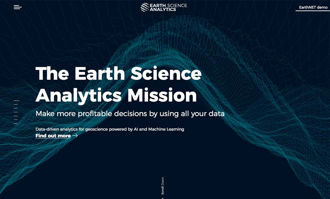 Earth Science Analytics website