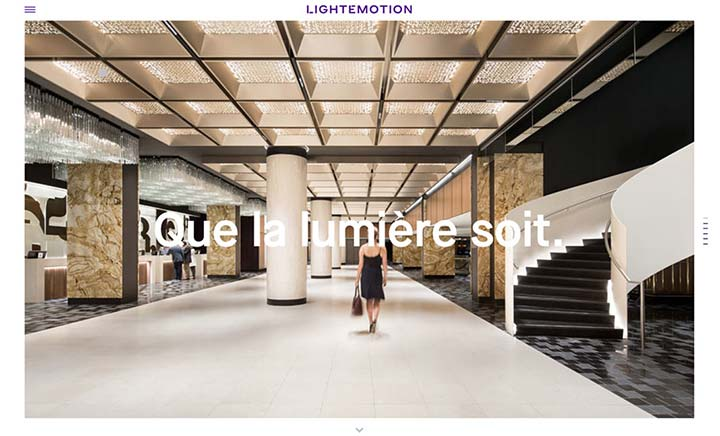 Lightemotion website
