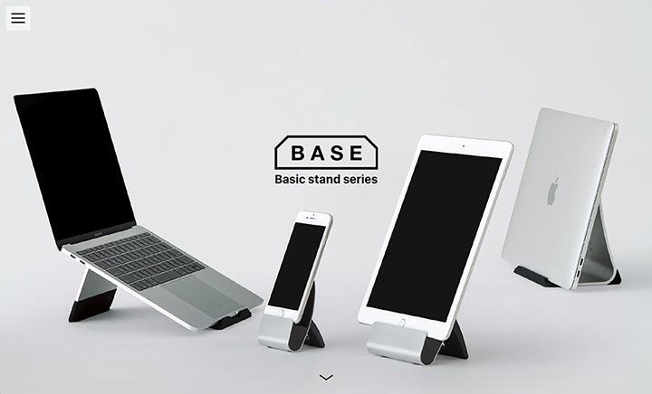Basic Stand Series BASE website