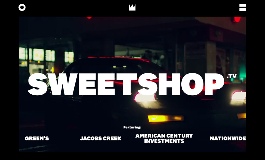 The Sweetshop website