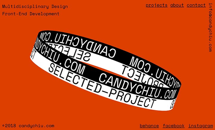 CANDY CHIU - Portfolio website