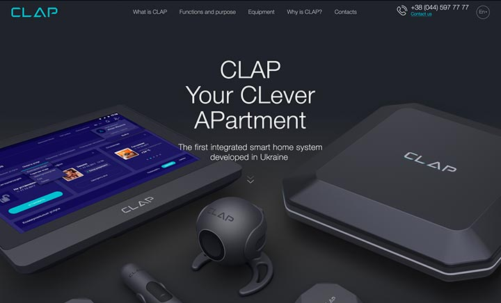 Clap website