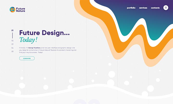 Future Nature Design website