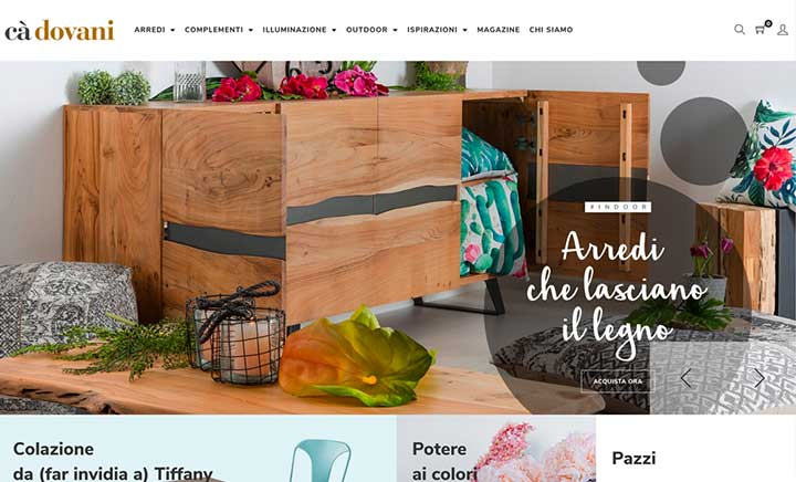 Living Italy, Loving Home website