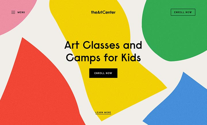 The Art Center website
