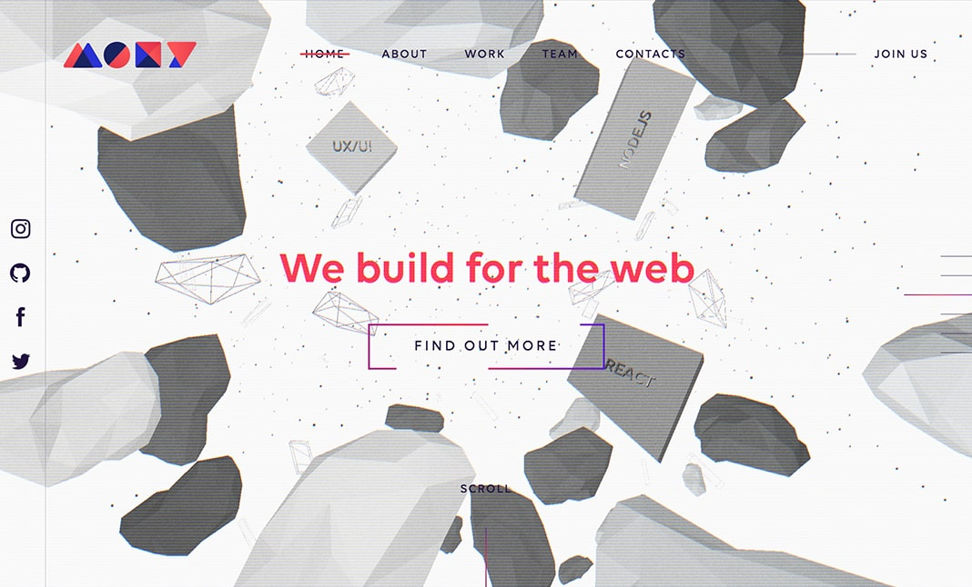 MOXY — Software & Design Studio website