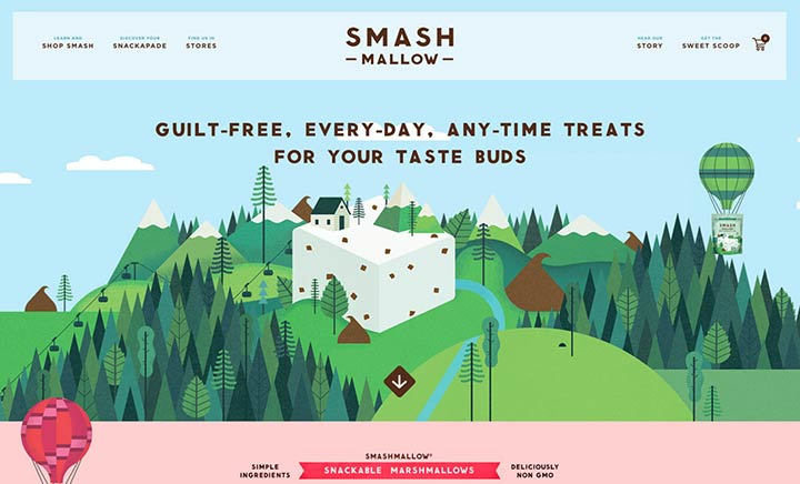 Smashmallow website