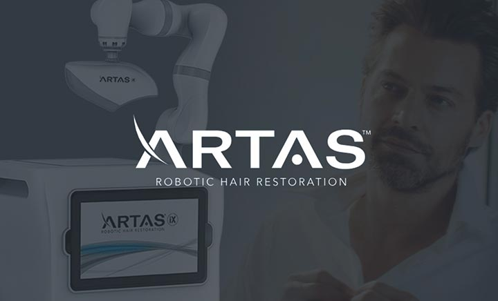 ARTAS Robotic Hair Transplant website