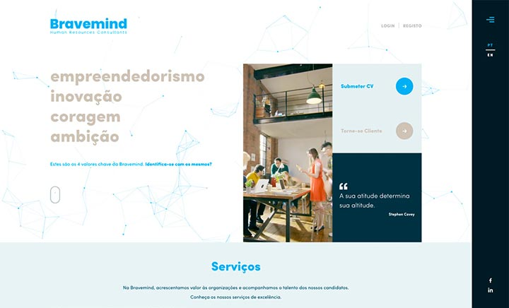 Bravemind website